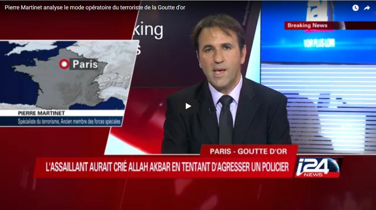 Pierre Martinet analyse le mode opératoire du terroriste de la Goutte d'or – IP24 NEWS